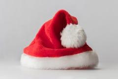 Sombrero del rojo de Santa Claus fotografía de archivo