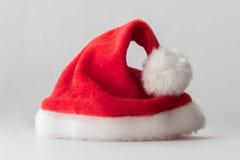 Sombrero del rojo de Santa Claus foto de archivo libre de regalías