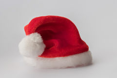 Sombrero del rojo de Santa Claus imagen de archivo