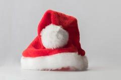 Sombrero del rojo de Santa Claus imágenes de archivo libres de regalías