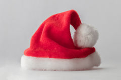 Sombrero del rojo de Santa Claus imagenes de archivo