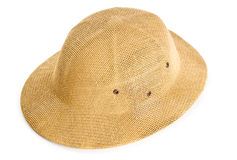 Sombrero del safari fotografía de archivo