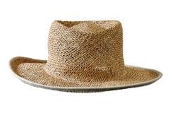 Sombrero del sol de la paja Foto de archivo