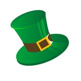 Sombrero del St Patrick Fotos de archivo libres de regalías