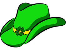 Sombrero del St. Patrick Fotos de archivo libres de regalías
