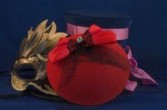 Sombrero del tiempo del partido Fotos de archivo libres de regalías