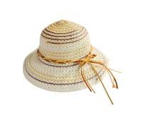 Sombrero del verano Imagen de archivo libre de regalías