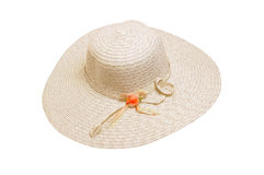 Sombrero del verano Imágenes de archivo libres de regalías