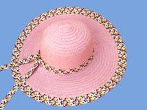 Sombrero del verano Fotografía de archivo