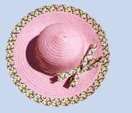 Sombrero del verano Foto de archivo libre de regalías