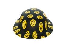 Sombrero divertido con sonrisas Imagen de archivo