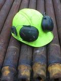 Sombrero duro Fotos de archivo