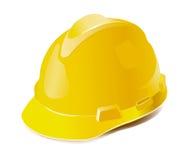 Sombrero duro amarillo ilustración del vector