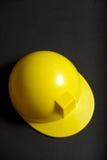 Sombrero duro amarillo Imágenes de archivo libres de regalías