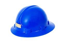 Sombrero duro azul Fotografía de archivo