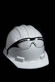 Sombrero duro de la construcción imagen de archivo libre de regalías