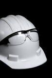 Sombrero duro de la construcción Fotografía de archivo