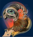 Sombrero fantástico Fotografía de archivo libre de regalías