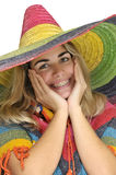 Sombrero girl Stock Photos