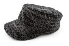 Sombrero gris imágenes de archivo libres de regalías