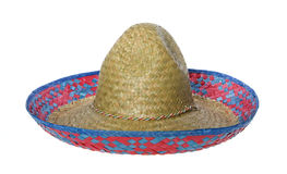 Sombrero Hat Isolated Royalty Free Stock Photography