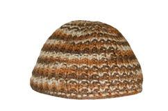 Sombrero hecho punto Foto de archivo