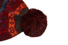 Sombrero hecho punto Imagen de archivo libre de regalías