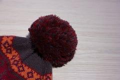 Sombrero hecho punto Fotografía de archivo