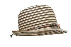 Sombrero hecho punto de las señoras. Imagen de archivo libre de regalías