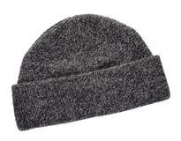 Sombrero hecho punto lanas del invierno Fotos de archivo