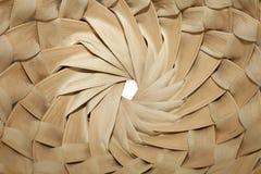 Sombrero inside. Palms sombrero texture from inside royalty free stock photography
