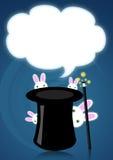 Sombrero mágico Foto de archivo libre de regalías