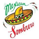 Sombrero messicano Fotografia Stock