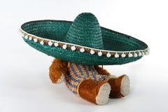 Sombrero - Mexicaans concept Royalty-vrije Stock Foto's