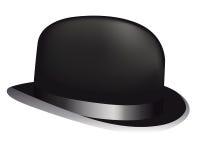 Sombrero negro Imágenes de archivo libres de regalías
