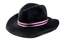 Sombrero negro Fotos de archivo