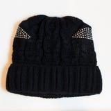 Sombrero negro Imagen de archivo libre de regalías