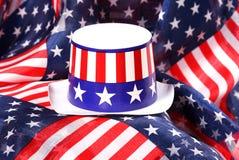 Sombrero patriótico Imagenes de archivo