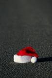 Sombrero perdido de Santa Fotos de archivo libres de regalías