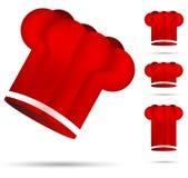 Sombrero rojo del cocinero Foto de archivo