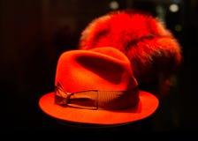 Sombrero rojo del duende Fotografía de archivo