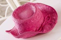 Sombrero rosado Imagenes de archivo