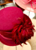 Sombrero rosado Fotografía de archivo