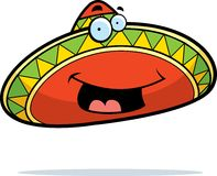 Sombrero Smiling Royalty Free Stock Photo