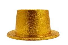 Sombrero superior de oro Imágenes de archivo libres de regalías