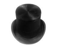 sombrero superior negro retro Fotos de archivo libres de regalías