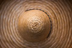 Sombrero, top view. Close-up. royalty free stock photo