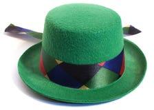 Sombrero verde Imagen de archivo libre de regalías