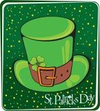 Sombrero verde de Patrick Fotos de archivo
