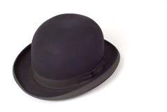 Sombrero viejo de derby fotos de archivo